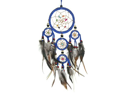 apecto-handmade-dream-catcher-circular-net-with-feathers-wall-hanging-decor-ornament-craft-blue-dm15