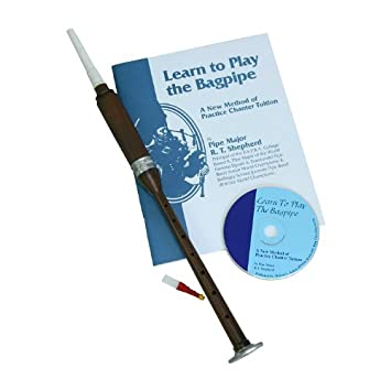 Roosebeck BAGL Sheesham Practice Chanter With Book and CD