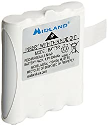 Midland Avp8 Nickel Metal Hydride Battery Packs For Lxt Series Gmrs Radios - Pair