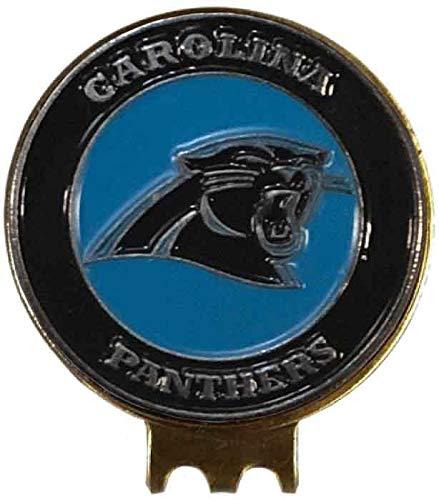 Carolina Panthers Golf Ball Marker ON HAT Clip Brass Gift IDEA NFL