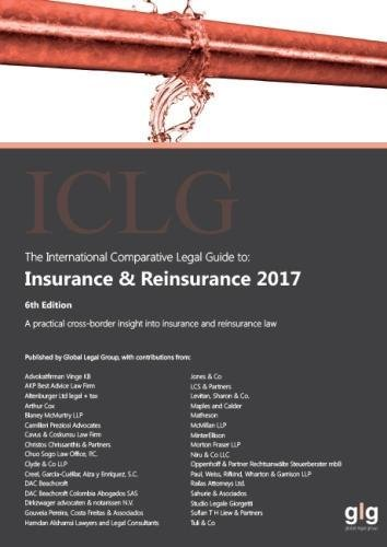 The International Comparative Legal Guide   Insurance   Reinsurance 2017  The International Comparative Legal Guide Series