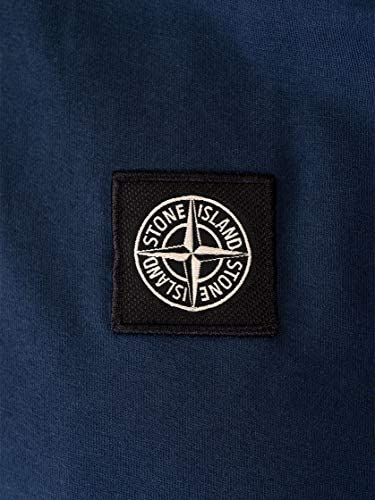 Stone Island Men's 701524113V0028 Blue Cotton T-Shirt
