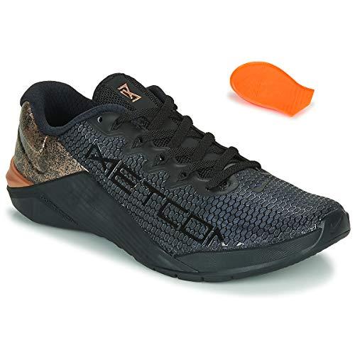 Nike Women's Metcon 5 X Training Shoes (6, Black/Bronze)