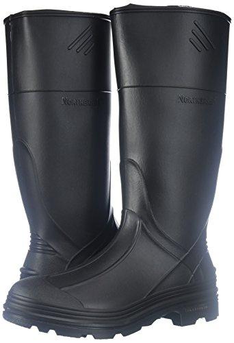 Ranger Splash Series Youths' Rain Boots, Black (76002) - Image 5