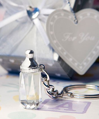 Choice Crystal Collection bottle keychain