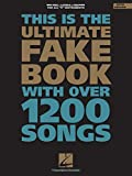 The Ultimate Fake Book: C Edition (Fake Books)