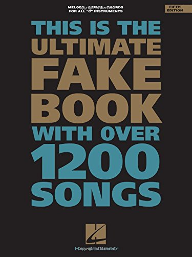 The Ultimate Fake Book (for C ()