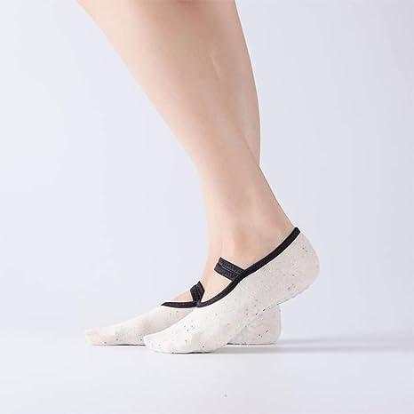 ZZW Calcetines de Yoga para Mujer Calcetines de Yoga ...