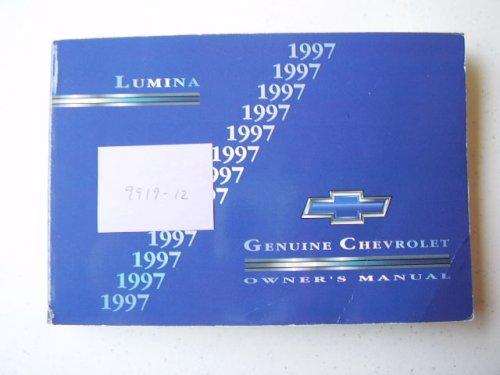 1997 Chevrolet Lumina Owners Manual