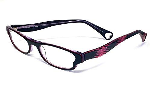 Betsey Johnson Flash Designer Reading Glasses in Raven ; -