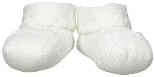 Jefferies Socks Baby Newborn Cable Bootie, White
