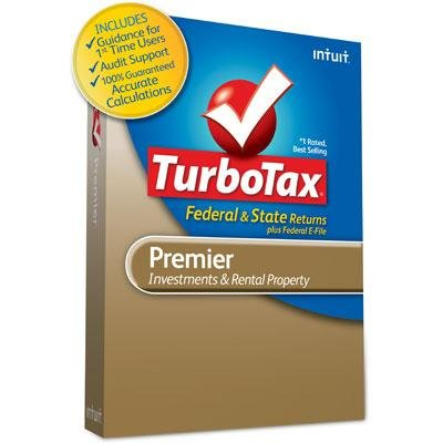 TurboTax Premier 2012 by Intuit