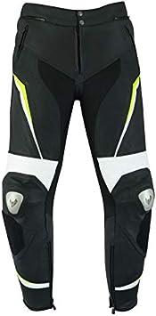 LOVO Pantalones de cuero para moto (Unisex) (5XL)