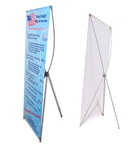 Custom Banner Printing, Pre-grommeted with Free Stand, for Trade Show Display and Store Front Exhibition, in Size (23