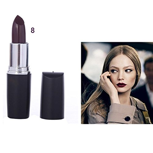 [New Lipstick! Elevin(TM)2017 Fashion Women Ladies Waterproof Vampire Cosmetic Stick Long Lasting lipstick Llip Gloss,8 Colors of Choices for Halloween Masquerade Party Deco (H)] (Female Vampire Makeup)