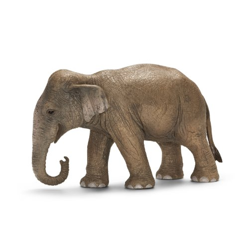 Female Elephant - Schleich Asian Female Elephant Toy Figure