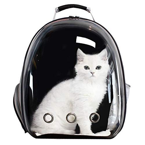 QKEMM Hundetasche Hundetragetasche Katzentragetasche Transporttasche aus Tragbaren Rucksack Transparent Reisen…