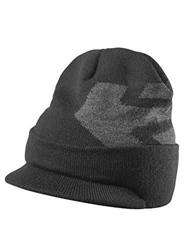Etnies Men's Corp Box Cuff Visor Beanie Hats,One Size,Black - Etnies Mens Beanie