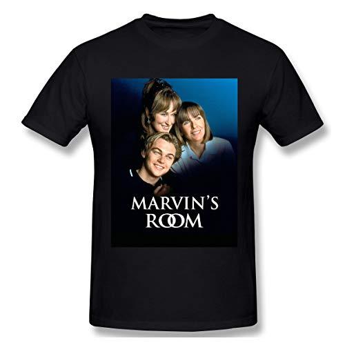 BTBANIN Marvin's Room Mans Chic Tees M Black