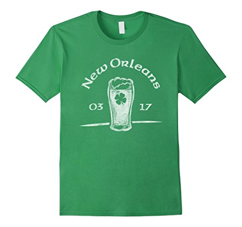 New Orleans T-Shirt Distressed St. Patrick's Day - New Orleans Shop Irish