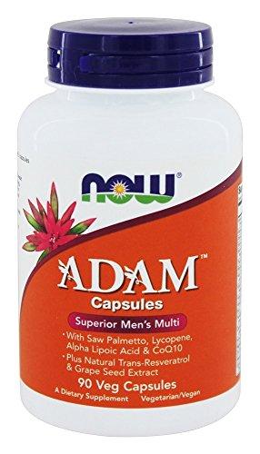 NOW Foods - ADAM Superior Men's Multi - 90 Vegetable Capsule(s)