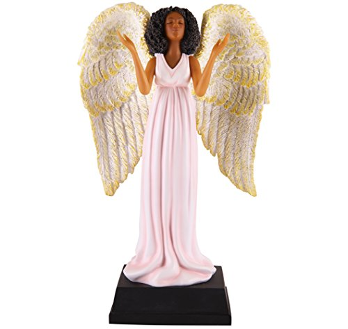 African American Expressions – Pink Angel Collectible Figurine FAN04