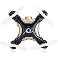 Kids 2.4GHz RC Hexacopter 4CH 6 Axis Gyro RC Drone Quadcopter RTF With 0.3MP Camera Mini Aircraft Toy Black