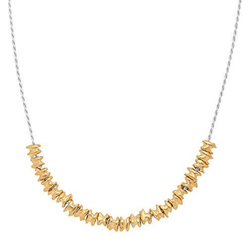 Silpada 'Precious Pebbles' Necklace in Sterling Silver & Brass