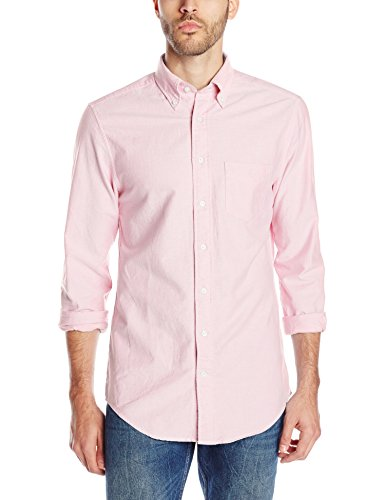 GANT Men's Perfect Oxford Shirt, Pastel Pink, XX-Large