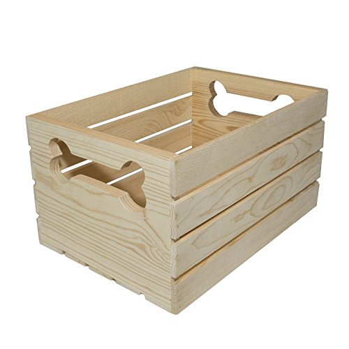MPI WOOD Crate with Bone Handle