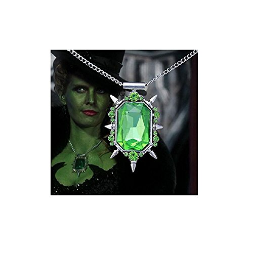 Jewelry tycoon®Zelena or Glinda pendant necklace from Once Upon a Time witch amulet ()