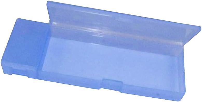 P Prettyia Estuche para Bolsas de Lápices Hecho de Material Plástico PP Duradero - Azul claro, 210x 70x 30mm: Amazon.es: Zapatos y complementos