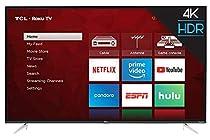 TCL 55S423 55 4K UHD HDR Roku Smart TV (Renewed)