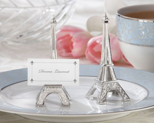 Evening-in-Paris-Eiffel-Tower-Silver-Finish-Place-Card-Holder-set-of-4-Set-of-6