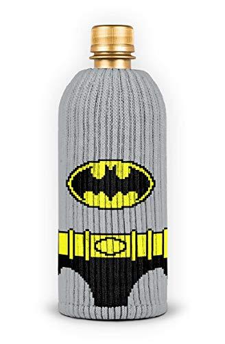 FREAKER Fits Every Bottle Can Beverage Insulator, Stops Bottle Sweat, DC Batman Suit Superhero Justice League -