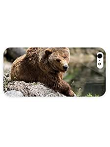 3d Full Wrap Case for iPhone ipod touch4 Animal Grizzly Bear