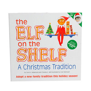 Amazon.com: Elf on the Shelf: A Christmas Tradition (blue-eyed boy ...