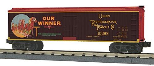 - 40' Wood Reefer - 3-Rail Ready to Run - RailKing -- Our Winner Juice