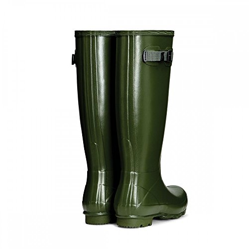 Hunter Norris Field Neoprene Lined Ladies Boot UK5 EU38 US7 Vintage Green