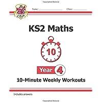 New KS2 Maths 10-Minute Weekly Workouts - Year 4 (CGP KS2 Maths)