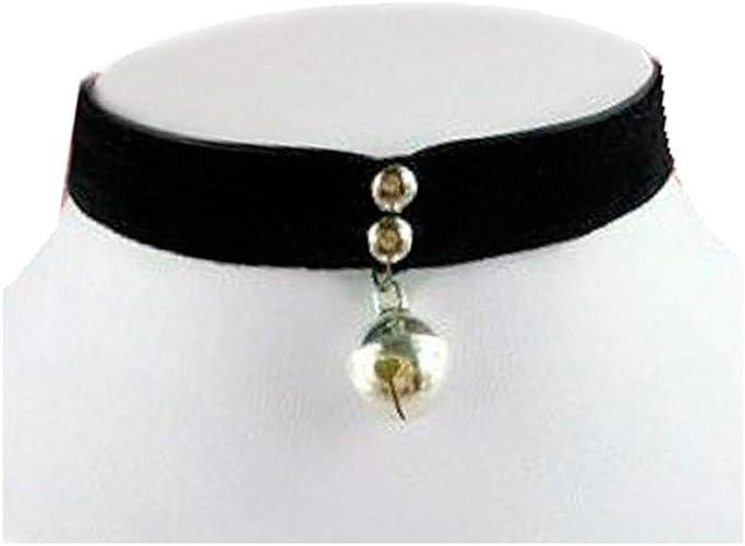 A Set Of 2Gothic Black VelvetVictorian Choker Collar NecklaceUK Seller