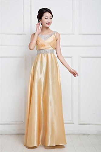 Drasawee Drasawee Gold Kleid Gold Damen Damen Damen Empire Drasawee Kleid Empire Empire Kleid RU8nRqr7