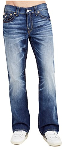 (True Religion Men's Bootcut Jeans w/Flaps in Rung Alive (44))