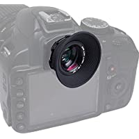 Mcoplus 1.08x-1.60x Zoom Viewfinder Eyepiece Magnifier for Canon Nikon Pentax Sony Olympus Fujifim Samsung Sigma Minoltaz DSLR Camera