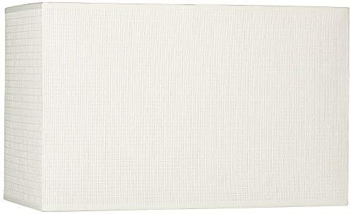 Rectangular Table Lamp Shade - Off-White Rectangular Paper Shade 8/16x8/16x10 (Spider)