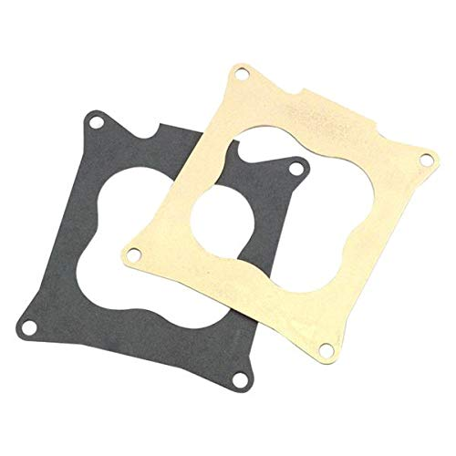 (Holley 508-17 - Throttle Body Base Plate and Gasket Set)