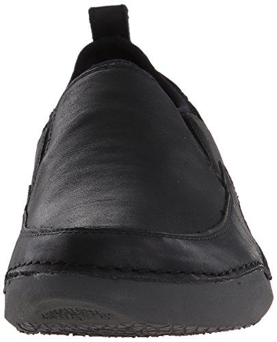 Hush Puppies Mens Crofton Method Slip-On Loafer Black Leather