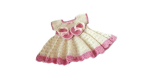 Baby Easter Dress Crochet Baby Dress Set Handmade Baby Gift Baby Blanket Yellow Baby Dress Headband  Shoe Set Newborn Baby Summer Dress
