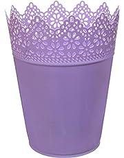 Lamsa Plast Trash Bin - Purple
