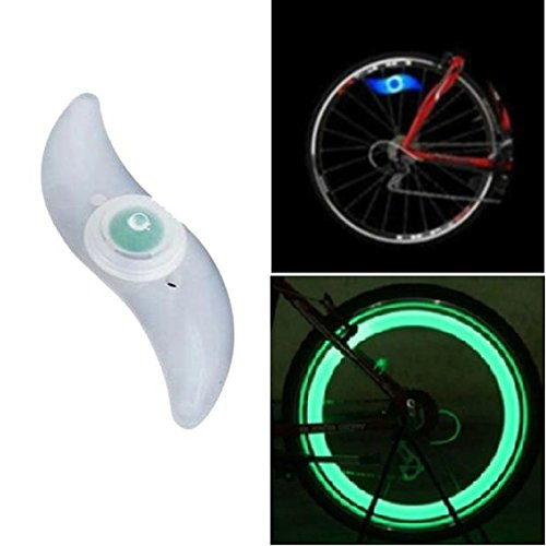 Muranba Bike Bicycle Cycling Spoke Wire Tire Tyre Wheel LED Bright Lamp GN